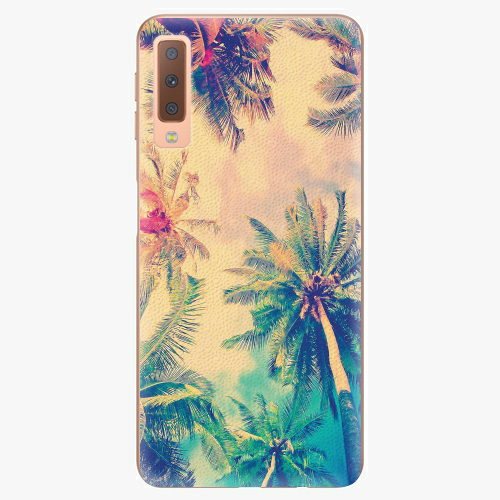 Plastový kryt iSaprio - Palm Beach - Samsung Galaxy A7 (2018)