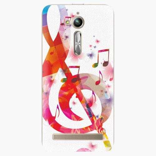 Plastový kryt iSaprio - Love Music - Asus ZenFone Go ZB500KL