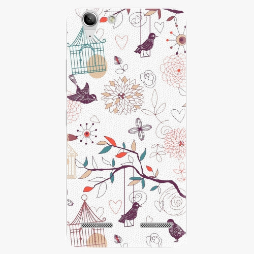 Plastový kryt iSaprio - Birds - Lenovo Vibe K5