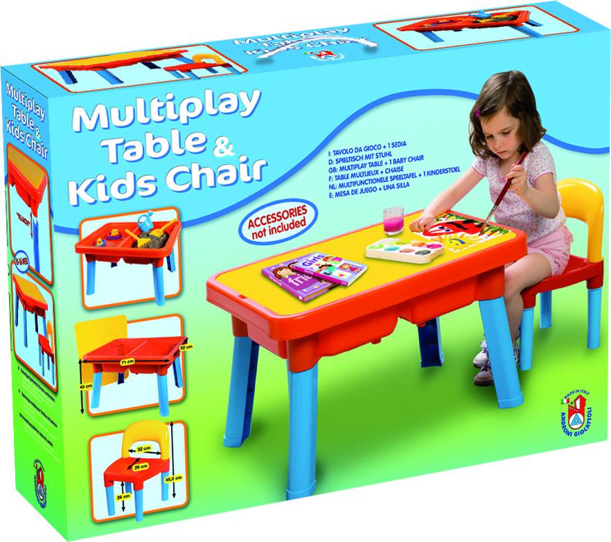 Androni Multifunkční stoleček se sedátkem
