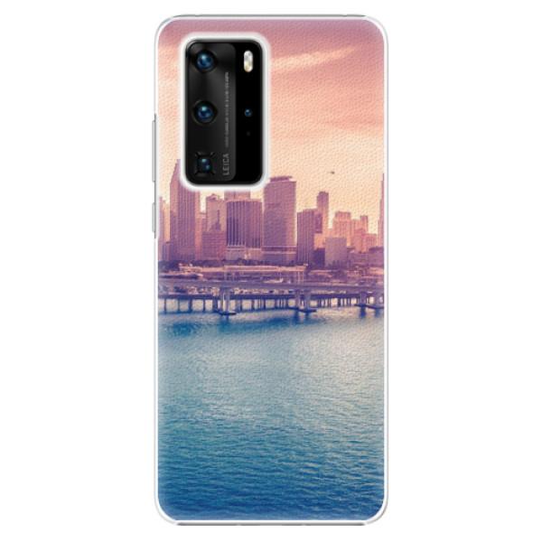 Plastové pouzdro iSaprio - Morning in a City - Huawei P40 Pro