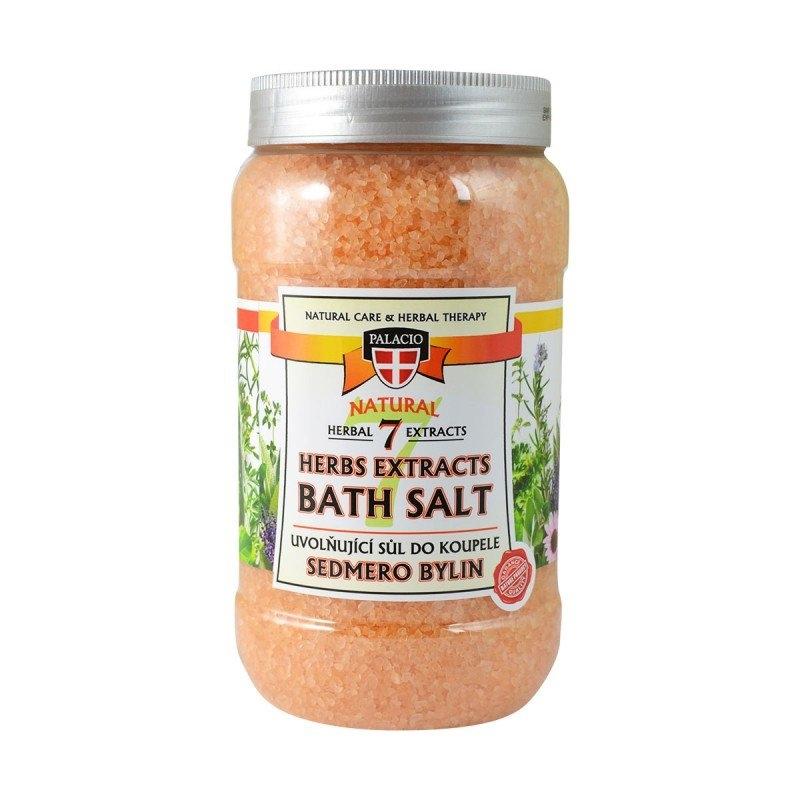 Sedmero bylin sůl do koupele 1200 g