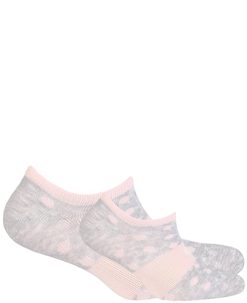 Dámské vzorované kotníkové ponožky