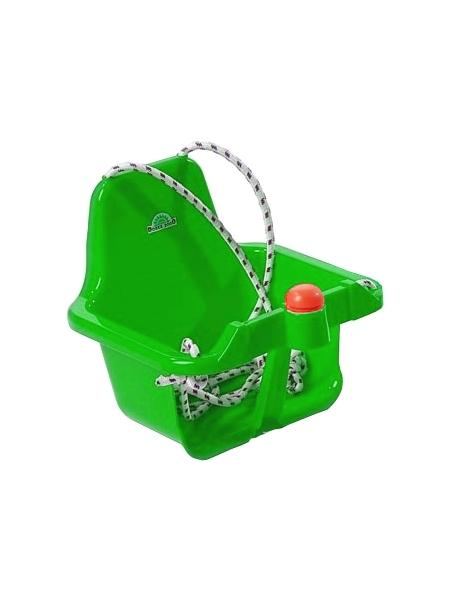 Houpačka s pískátkem - světlá - zelená