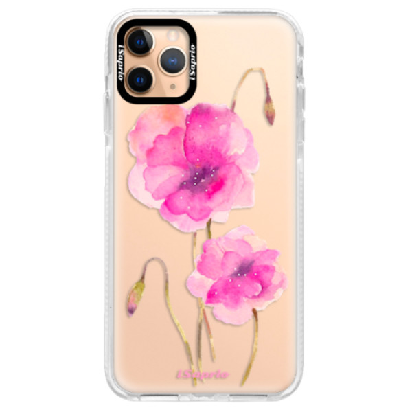 Silikonové pouzdro Bumper iSaprio - Poppies 02 - iPhone 11 Pro Max