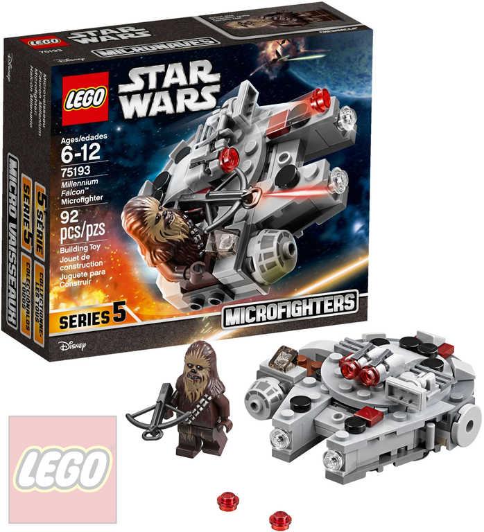 LEGO STAR WARS Mikrostíhačka Millennium Falcon STAVEBNICE 75193