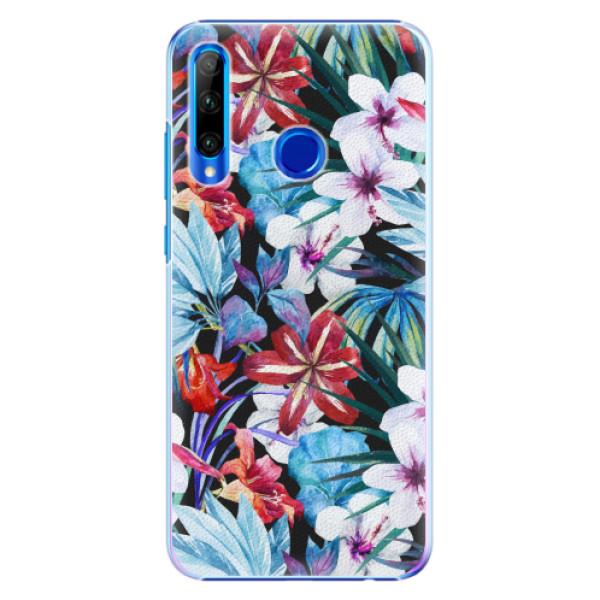 Plastové pouzdro iSaprio - Tropical Flowers 05 - Huawei Honor 20 Lite