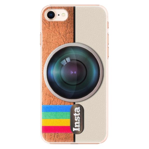 Plastové pouzdro iSaprio - Insta - iPhone 8
