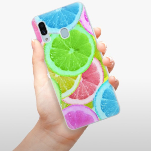 Silikonové pouzdro iSaprio - Lemon 02 - Samsung Galaxy A30