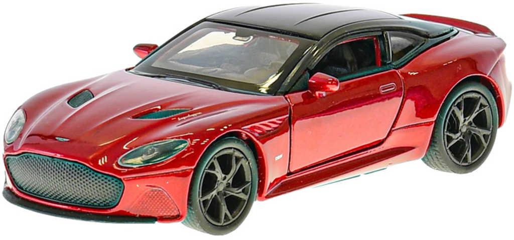 WELLY Auto model Aston Martin Superleggera 12cm zpětný chod kov 3 barvy