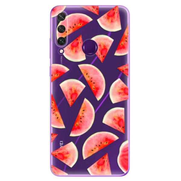 Odolné silikonové pouzdro iSaprio - Melon Pattern 02 - Huawei Y6p