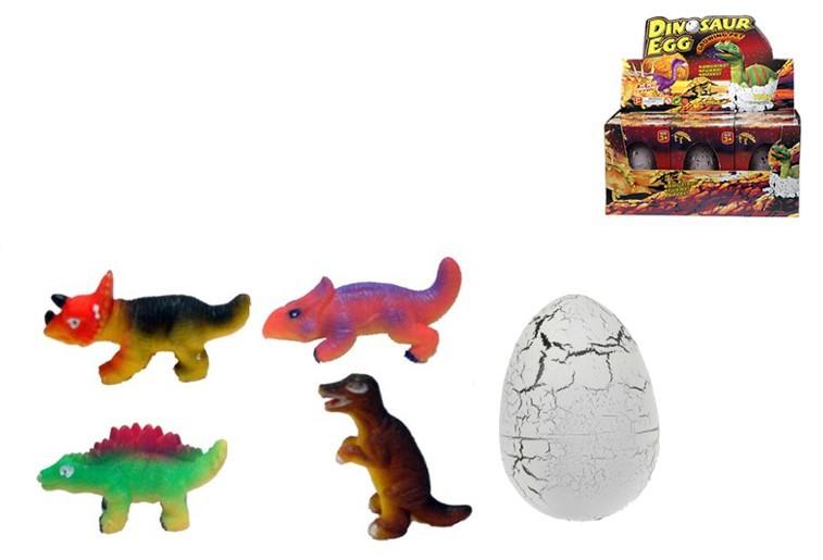 Dinosaurus JUMBO líhne se, roste Vajičko líhnoucíse dino velké