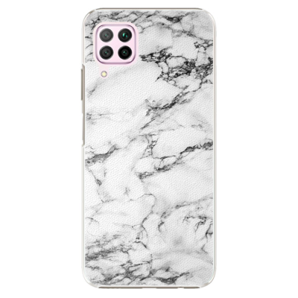 Plastové pouzdro iSaprio - White Marble 01 - Huawei P40 Lite