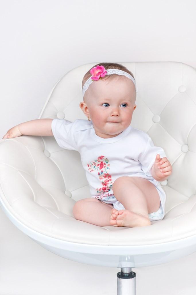 Body s potiskem New Baby Už mám 1 rok