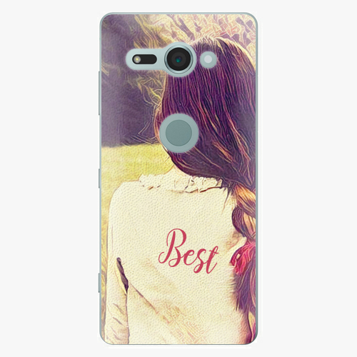 Plastový kryt iSaprio - BF Best - Sony Xperia XZ2 Compact