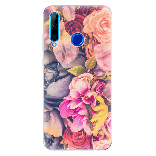 Silikonové pouzdro iSaprio - Beauty Flowers - Huawei Honor 20 Lite