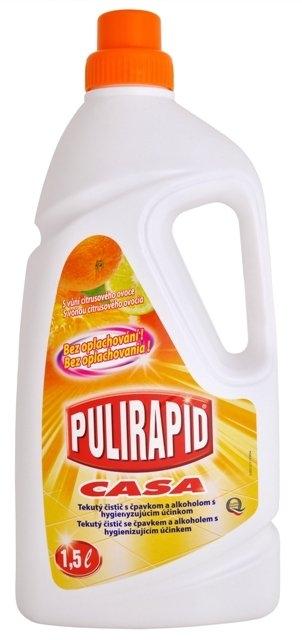 Pulirapid Casa univerzální čistič se čpavkem 1500 ml, Citrusové ovoce