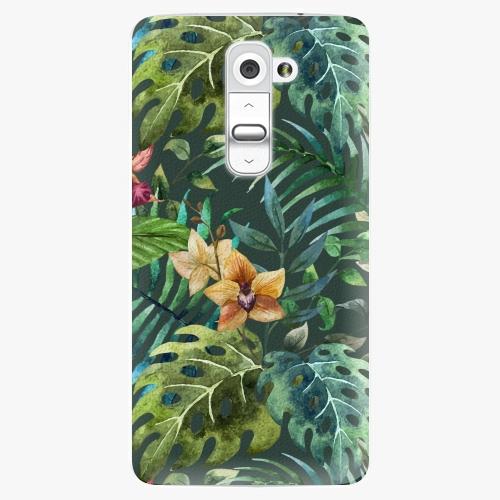 Plastový kryt iSaprio - Tropical Green 02 - LG G2 (D802B)