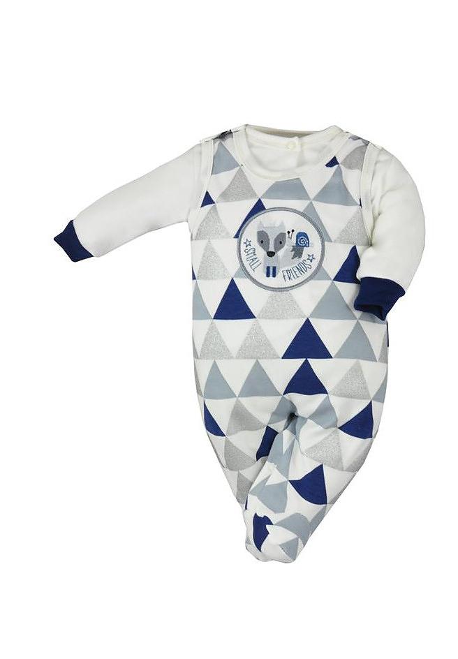 Komplet Koala Baby Small Friends 74 - Tmavě modrá-šedá/74