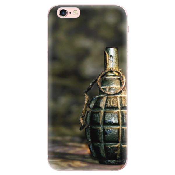 Odolné silikonové pouzdro iSaprio - Grenade - iPhone 6 Plus/6S Plus