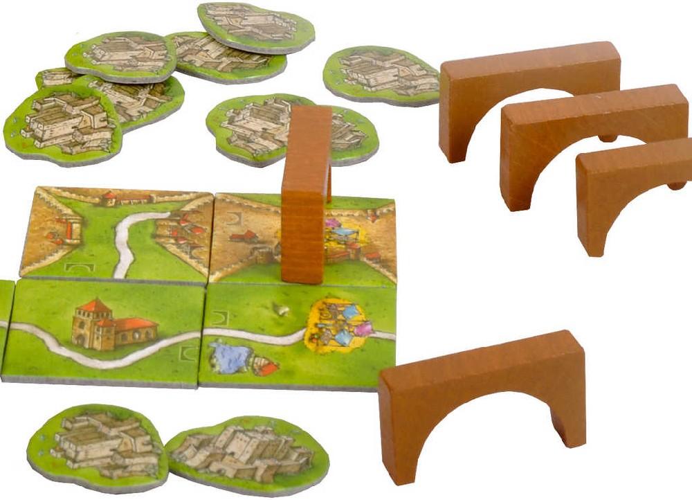 MINDOK HRA Carcassonne rozšíření 8 Mosty a hrady *SPOLEČENSKÉ HRY*