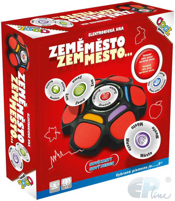 EP line HRA Cool Games Země, město... elektronická na baterie