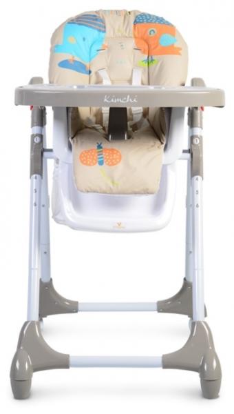 Moni Dětská jídelní židlička Kimchi - khaki