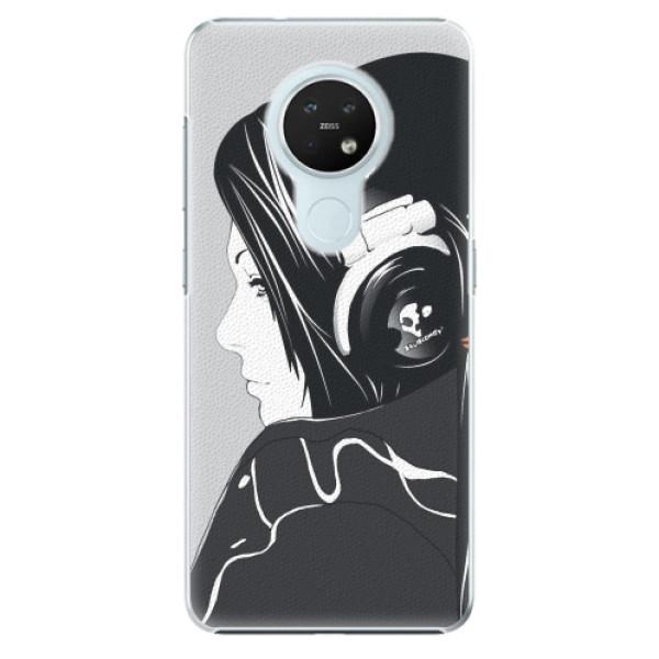 Plastové pouzdro iSaprio - Headphones - Nokia 7.2