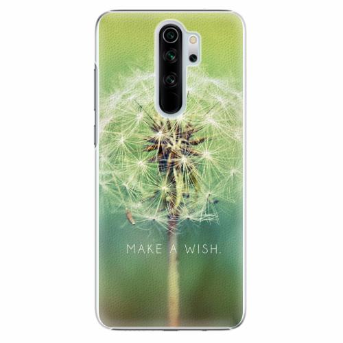 Plastový kryt iSaprio - Wish - Xiaomi Redmi Note 8 Pro