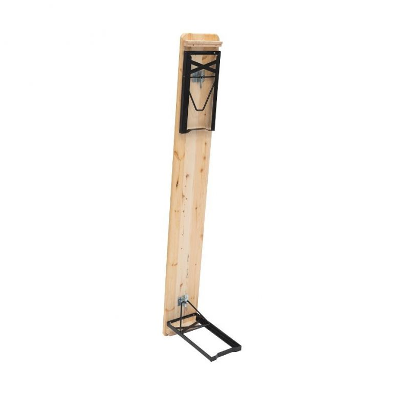 Pivní set z ošetřeného borovicového dřeva, 220 x 50 cm