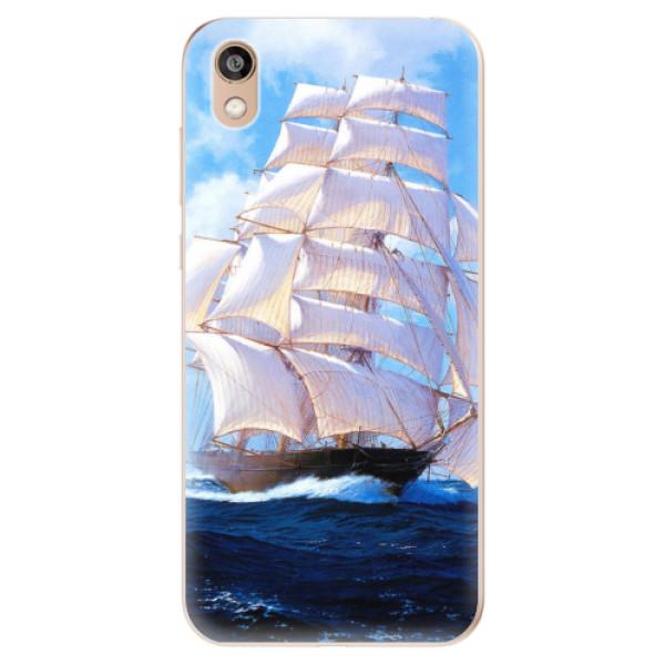 Odolné silikonové pouzdro iSaprio - Sailing Boat - Huawei Honor 8S