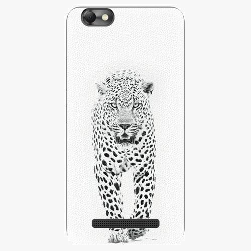 Plastový kryt iSaprio - White Jaguar - Lenovo Vibe C