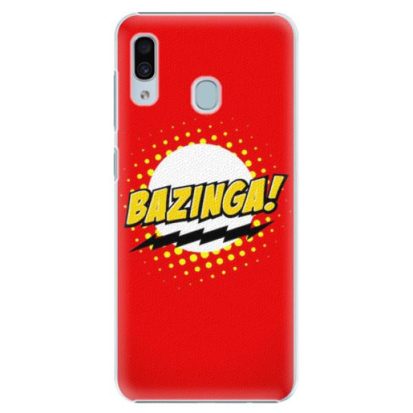 Plastové pouzdro iSaprio - Bazinga 01 - Samsung Galaxy A30
