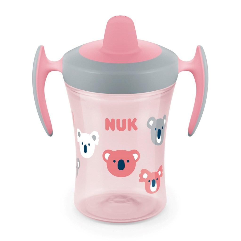 Dětský hrníček NUK Trainer Cup 230 ml - růžová