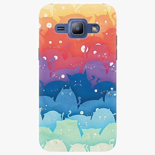 Plastový kryt iSaprio - Cats World - Samsung Galaxy J1
