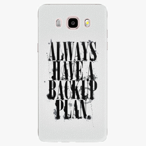 Plastový kryt iSaprio - Backup Plan - Samsung Galaxy J5 2016