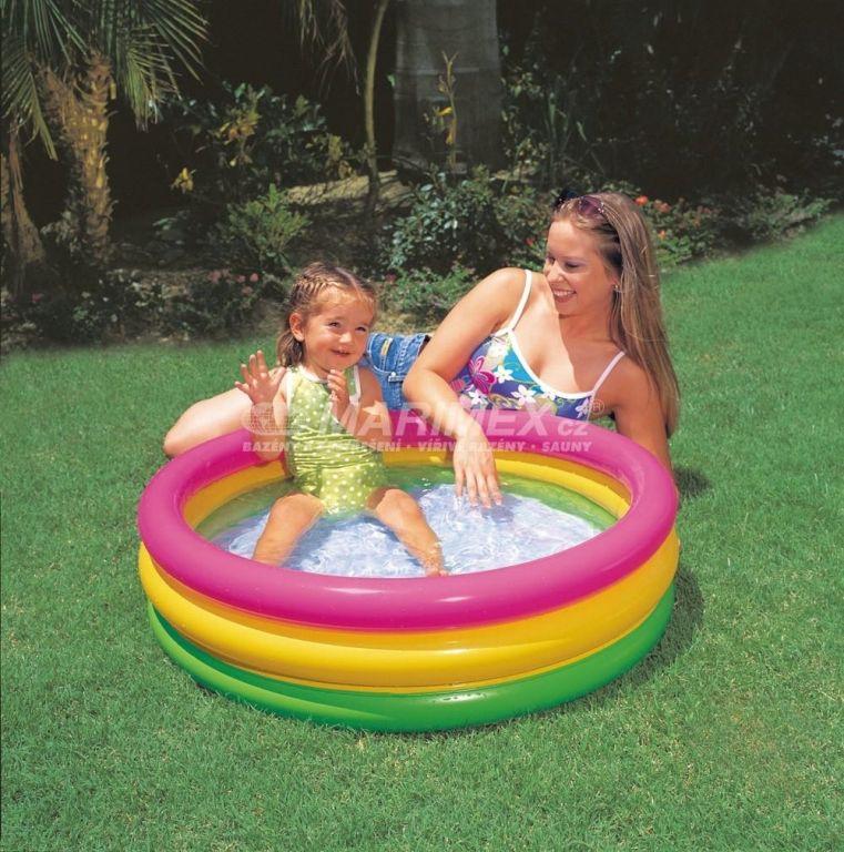 Nafukovací dětský bazén, malý, 86 x 25 cm