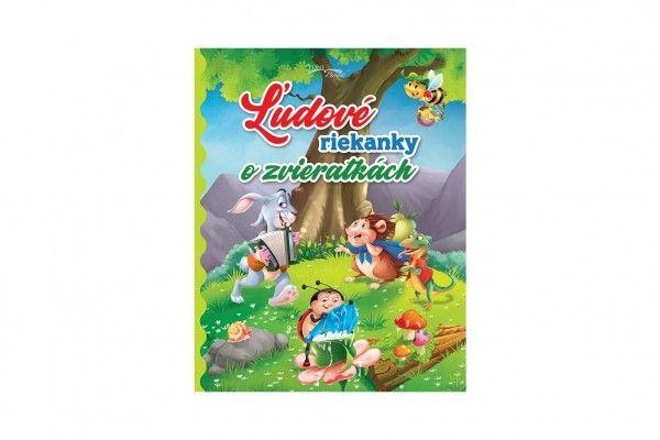 Kniha Ľudové riekanky o zvieratkách SK verze