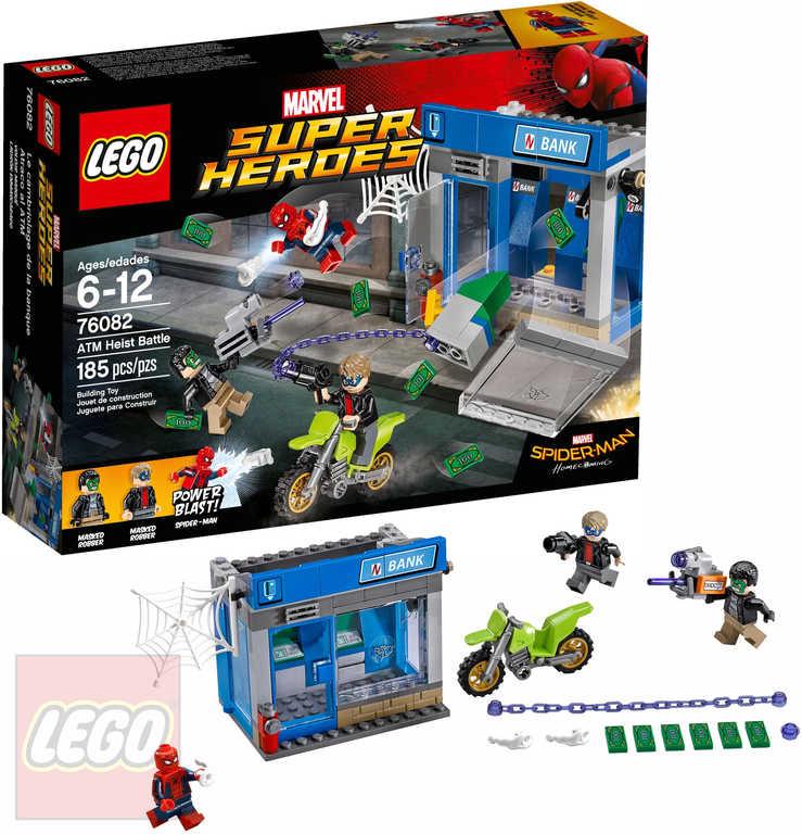 LEGO SUPER HEROES Krádež bankomatu 76082 STAVEBNICE