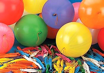 GEMAR Balónek nafukovací punch ball pastelové s gumičkou 45/141 8 barev GPB1