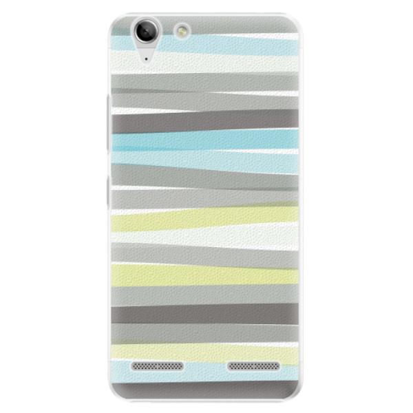 Plastové pouzdro iSaprio - Stripes - Lenovo Vibe K5