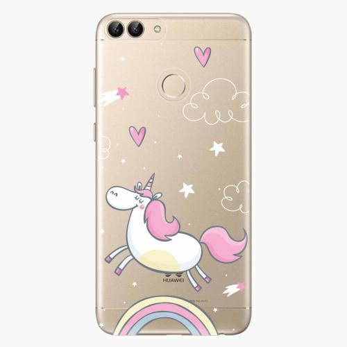 Silikonové pouzdro iSaprio - Unicorn 01 - Huawei P Smart