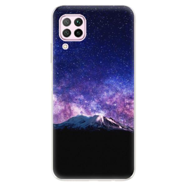 Odolné silikonové pouzdro iSaprio - Milky Way - Huawei P40 Lite