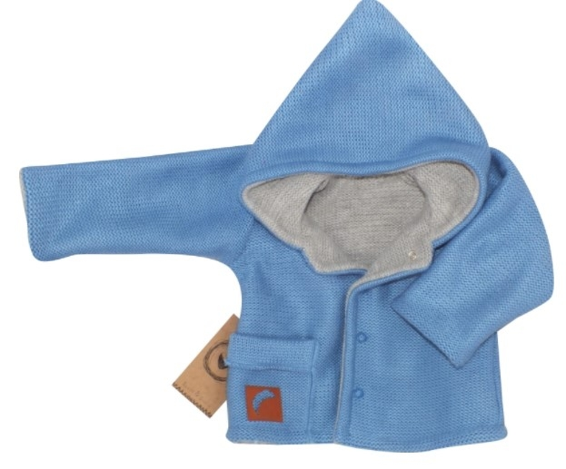 Z&Z Pletený, oboustranný svetřík, kabátek s kapucí
