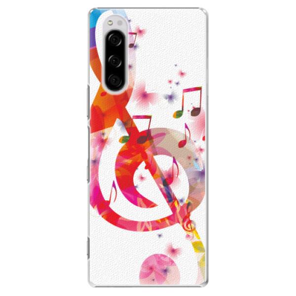 Plastové pouzdro iSaprio - Love Music - Sony Xperia 5