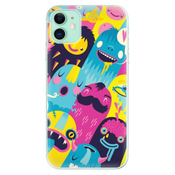 Odolné silikonové pouzdro iSaprio - Monsters - iPhone 11
