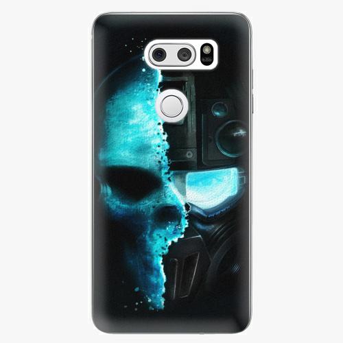 Plastový kryt iSaprio - Roboskull - LG V30