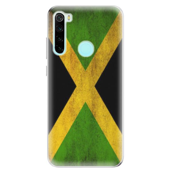 Odolné silikonové pouzdro iSaprio - Flag of Jamaica - Xiaomi Redmi Note 8