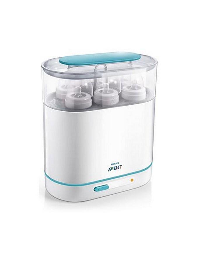 Elektrický parní sterilizátor 3v1 Avent - bílá