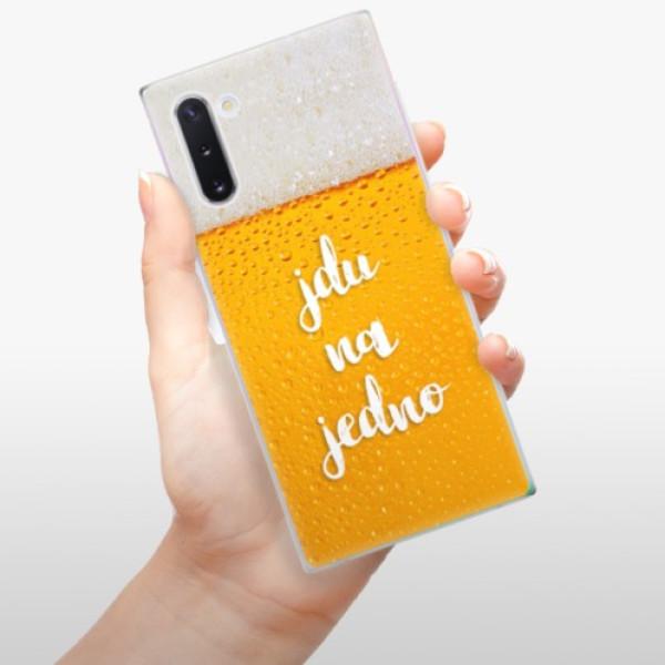 Odolné silikonové pouzdro iSaprio - Jdu na jedno - Samsung Galaxy Note 10